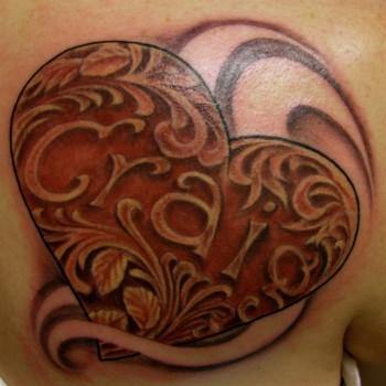 Tattoos metal valentine heart tattoo designs for Valentine s day tattoos