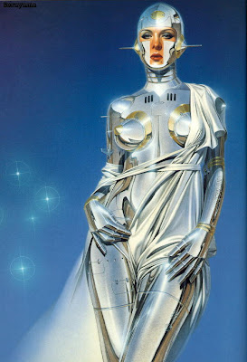 Sexy Robot Sorayama Airbrush Designs Photography