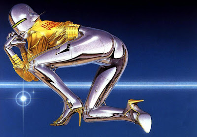 Sexy Robot Sorayama Airbrush Designs Wallpaper