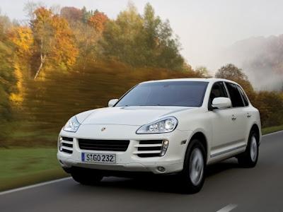SUV Car Porsche Cayenne Diesel Front