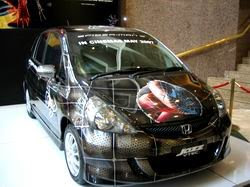 Honda Jazz Cool Airbrush Modification