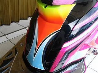 HONDA VARIO Full Body Airbrush Graphic 2