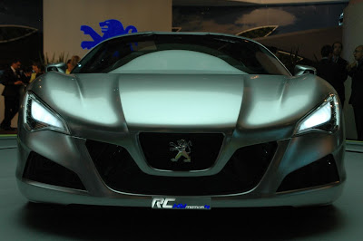 Peugeot RC Concept Racing inside car 1