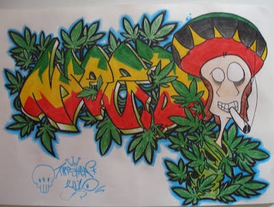 Graffiti murals vandal design 4