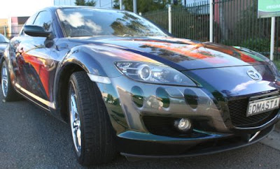 Mazda RX8 Airbrush Painting On full Body 2