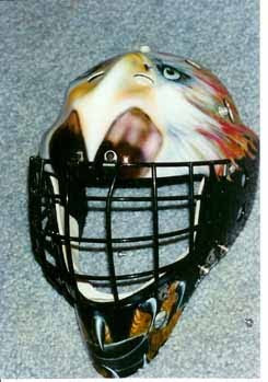 2012 Custom Airbrush Helmet 1