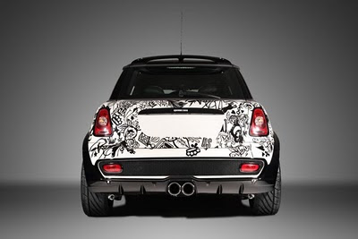 Mini Cooper Car Tribal Airbrush 5