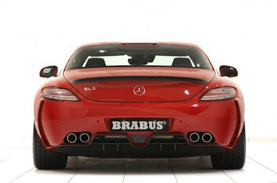 2011 Brabus Mercedes Benz SLS AMG Widestar 4