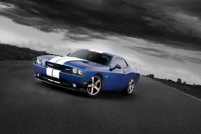 Fast Car Dodge Challenger SRT8 392 1