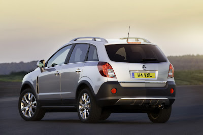2011 Vauxhall Antara Facelift Back Side