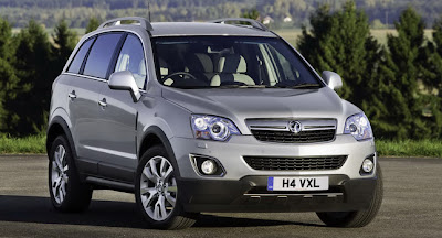 2011 Vauxhall Antara Facelift Front