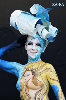 2011 Trend Airbrush Body Painting 1