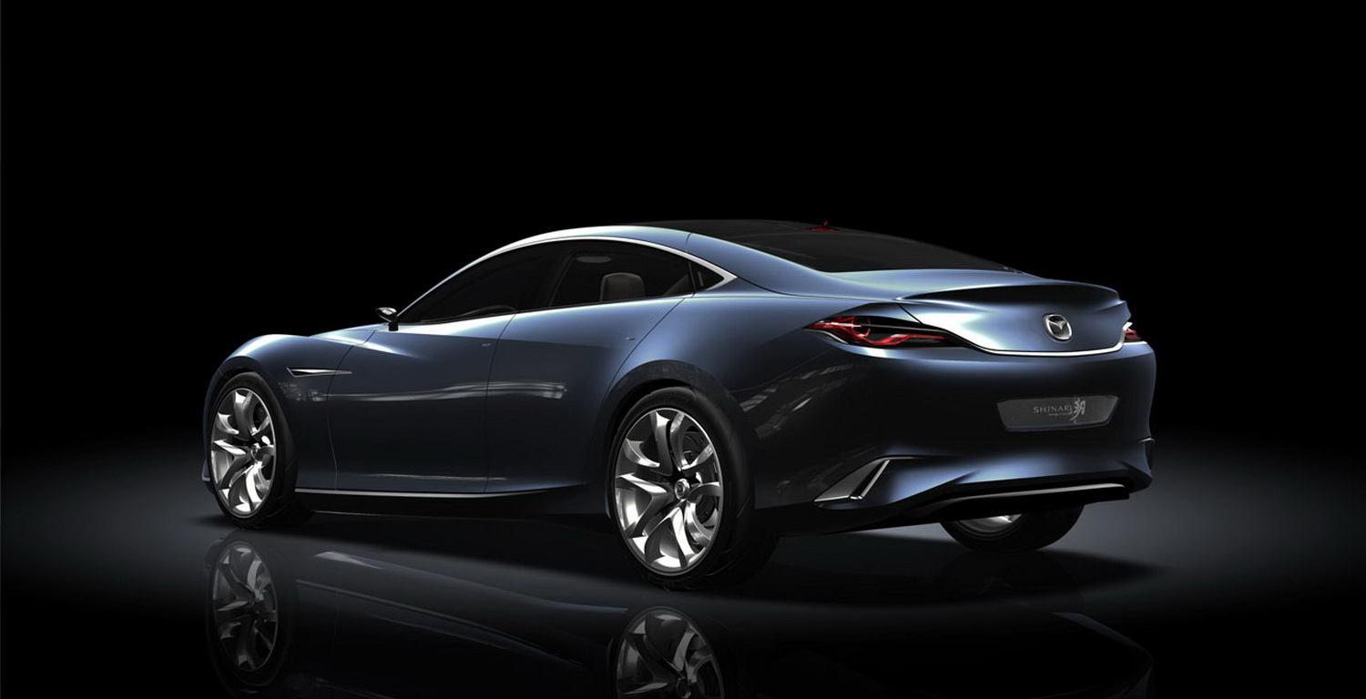 Avenged Car 2011 Mazda Shinari Concept