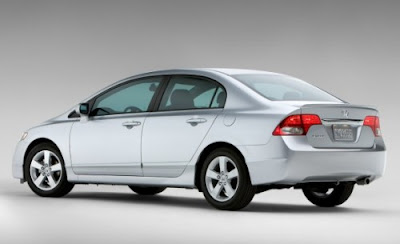 Honda Civic Hybrid Silver Pictures 2