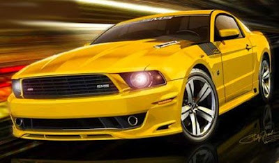 2011 Ford Mustang Strong Car Photography 6