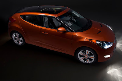 2012 Hyundai Veloster Orange Color Side