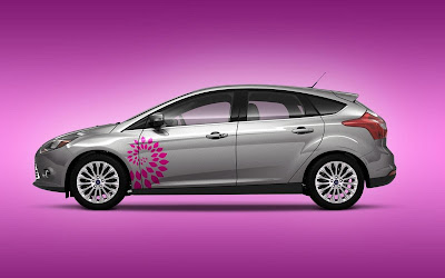 Custom Ford Focus Car Airbrush Artwork 07