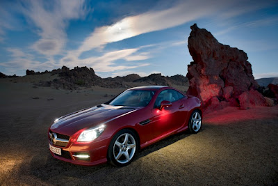 2012 Mercedes-Benz SLK-Class Roadster Photography