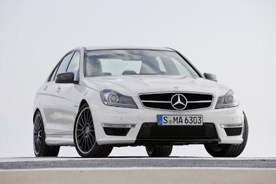 mercedes-benz-c63-amg-white-front