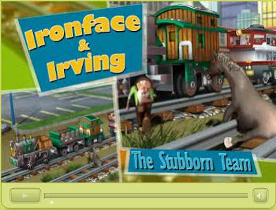 Ironface and Irving - The Stubborn Team - GeoTrax