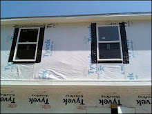 Working on the soffit