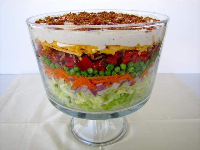 Susi's Kochen Und Backen Adventures: Layer Salad
