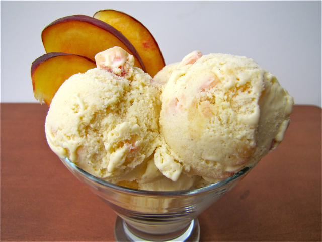 Susi's Kochen Und Backen Adventures: Ice Cream Fridays: Honey Peach Ice Cream