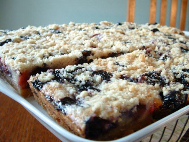 Berry Cobbler Pie Bars