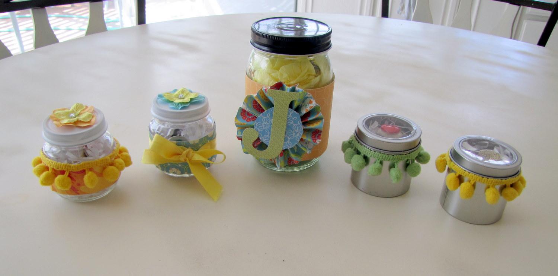 Baby Food Jar Project