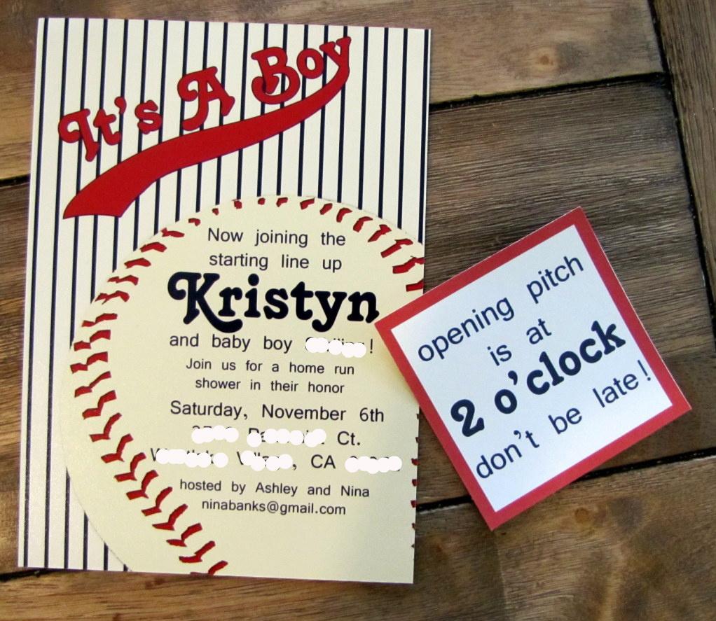 Vintage Baseball Birthday Invitations: Vintage Baseball Party