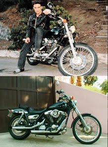 """""""Motocicleta de Brandon Lee""""."""
