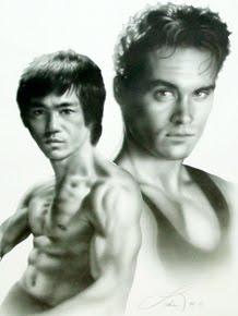 """Bruce e Brandon  - """"2 Lendas""""."""
