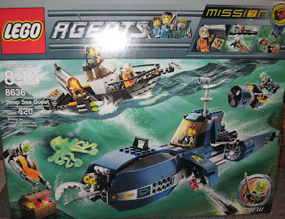 Lego Agents Mission 7 Lego agents mission 7  deep sea quest reviewLego Agents Mission 2