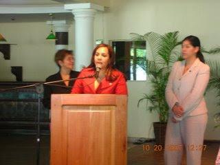 Karen Ricardo divulga detalles conversatorio sobre la Juventud en CD