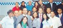 Jóvenes PRD realizan actos recordar a Peña