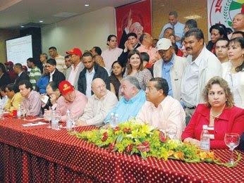 PRSC se reúne para discutir acuerdo LF-MV