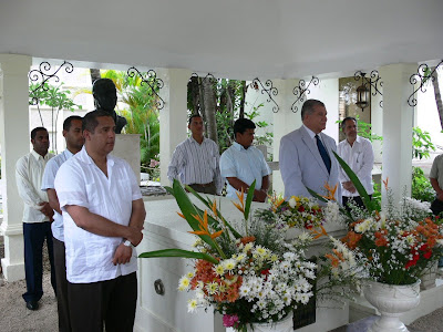 Perredeístas del Municipio Santo Domingo Este rinden homenaje a su líder.