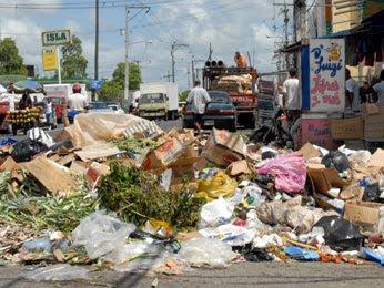 Se acumula basura en el DN y SD