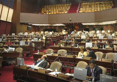 Impasse entre diputados hace abortar sesión