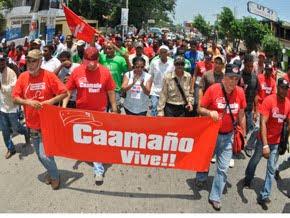 Movimiento Caamañista anuncia PN será acusada en los tribunales por agresión policial a Narciso Isa Conde
