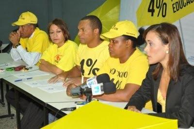 Coalición por Educación Digna espera presidente Fernández de buena noticia al país sobre el 4%