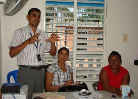 Dirigentes Comunitarios critican reparto de alimentos Barrio Seguro Cancino Adentro