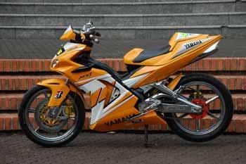 motor sport edition  MODIFIKASI Yamaha Jupiter MX 135LC 2006