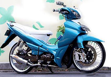 Modif Yamaha Jupiter Z Burhan