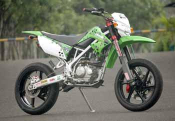 Motorsport And Autentic Car  MODIFIKASI Kawasaki KLX150 2009