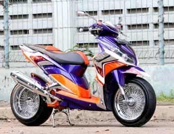 new modifikasi honda vario 2010