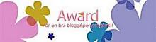 För en bra bloggpersonlighet!!