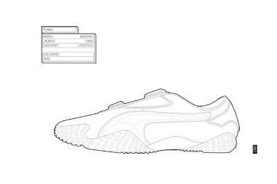 Sneaker Coloring Book Pages