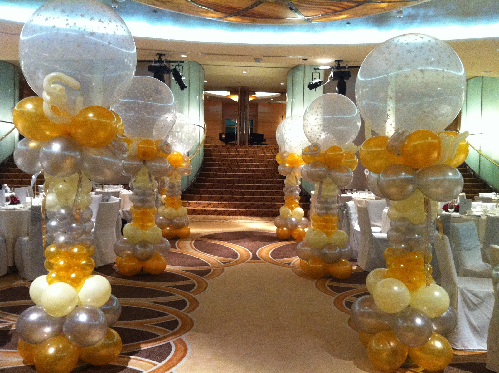 Wedding Decorations With Balloons