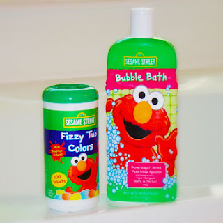 Sesame Street Bubble Bath And Fizzy Tub Colors Review And